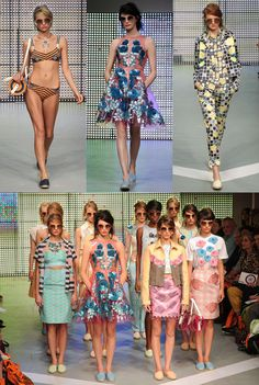 Holly Futon at London Fashion Week #Hollyfuton #LFW #Fashion
