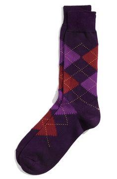 argyle socks for the guys