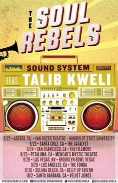 New post on Getmybuzzup- The Soul Rebels On Tour With Ms. Lauryn Hill + Fall Tour With Talib Kweli- http://getmybuzzup.com/?p=697431- Please Share
