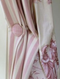 Window Coverings, Window Treatments, Cottage Rose, White Cottage, Rose Pastel, Pale Pink, Pelmets, Curtains With Blinds, Burlap Curtains