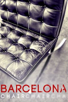 vintage barcelona chair
