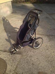 Używany, rowerowy przyczepko-wózek (jednoosobowy)