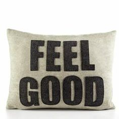 "Alexandra Ferguson ""Feel Good"" Pillow 