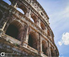Coliseo, Roma, Italia. #Viajes #Travel #Roma #Italia #Airhopping #Airhoppers #Interrail #Avión #Viaje #Viajar #World #Sol #Monumentos #Coliseo #Romano #Inspiración #Viajeros #Europa #Mundo