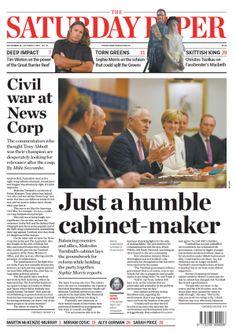 Kicking the Abbott   The Saturday Paper: An amazing spray #auspol