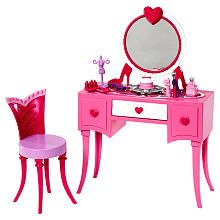 "Is it bad I want all the Barbie stuff for myself? It's hard not to buy your little girl every little Barbie piece that comes out! Especially when it's this cute! Barbie Room in a Box - Vanity - Mattel - Toys ""R"" Us"
