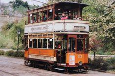 Glasgow Corporation tramcar no.22