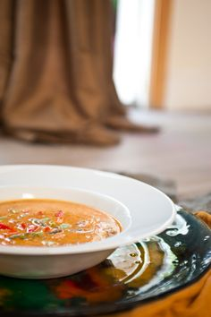 Red Pepper Coconut Soup