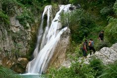 Check out this slideshow Hiking Polilimnio Waterfalls in this list 9 Epic Waterfall Hikes Costa Rica, Waterfall Hikes, Nature Activities, Greece Travel, Places To See, Travel Inspiration, Scenery, Hiking, Jessie
