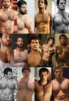 Hottest hunk ever. Scruffy Men, Hairy Men, Henry Caville, Love Henry, Henry Superman, My Sun And Stars, Le Male, British Men, Bear Men