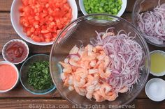 Preparation of Ecuadorian shrimp ceviche Okra Recipes, Fish Recipes, Seafood Recipes, Mexican Food Recipes, Chicken Recipes, Cooking Recipes, Shrimp Ceviche, Chef Dishes, Healthy Rice