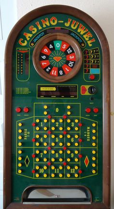Atronic 1 of a Kind Proto-Type Video Roulette Slot Machine Full Size Lots of Fun