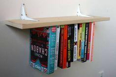 Etagères à livres à l'envers