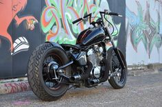 Murdered Out Shadow Bobber