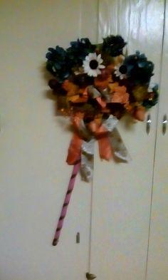 R. Imgrund DIY fall rake wreath
