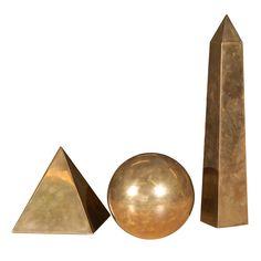 Set Of Three SARREID LTD Piece Sculpture.