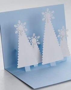 Terrific pop up Christmas card ideas and images.