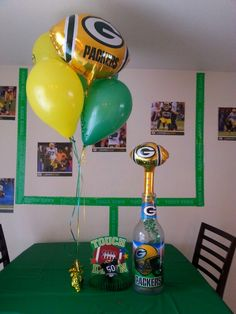 Packer party ideas
