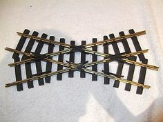 G gauge brass cross over