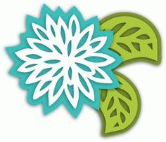 View Design: 3d layered flower