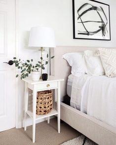 Our Master Bedroom Refresh Home Bedroom, Bedroom Decor, Master Bedroom, Modern Bedroom, Bedroom Ideas, Bedroom Designs, Master Suite, Bedside Table Decor, Ideias Diy