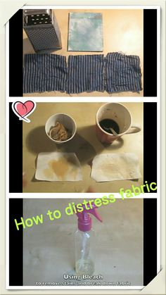 This tutorial will just explain some basic techniques on how to distress fabric which I used, whether you just want to rough your jeans up a little bit or ma. Cosplay Ideas, Costume Ideas, Costumes, Cosplay Makeup, Costume Makeup, Textiles Techniques, Painting Techniques, Diy Stuff, Geek Stuff
