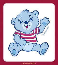 © Barnabus - #Miś na opakowanie mydła ▪ Teddy #bear for a packaging of soap.