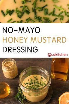 Made with safflower oil, Dijon mustard, honey, lemon juice, salt ...