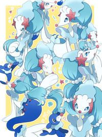Primarina | Know Your Meme    Primarina is a Pokémon introduced in the Sun and Moon games. A water/fairy-type Pokémon, it is the final evolution of the water starter Pokémon Popplio. Online, the character has inspired a high amount of fan art focused on what fans have interpreted as its feminine design.    Read more at KnowYourMeme.com.