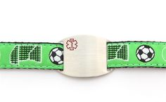 Play On - Children's Sports Band Bracelet - Medical ID