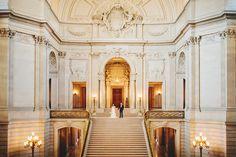 bridal flower hair piece, SF City Hall wedding, San Francisco Wedding Photographer
