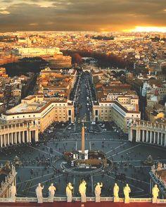 Città del Vaticano - piazza di San Pietro