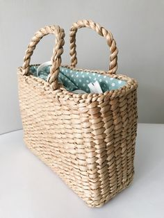 Excited to share the latest addition to my #etsy shop: Straw bag, Straw handbag, Straw basket, Beach bag, Straw tote