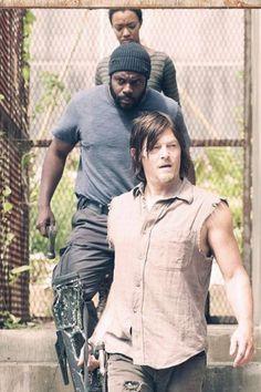Daryl, Tyreese et Sasha [Photo du jour]