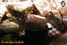 Carrés choco cacahuètes