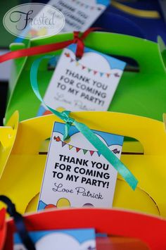 """(Little Big Company The blog} Mr Men themed birthday for """"Mr Patrick"""" by Frosted by Nicci"""