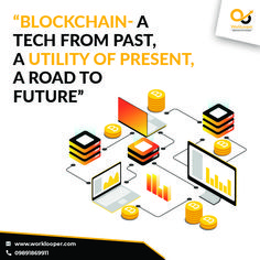 Blockchain - A Tech From Past, A Utility Of Present, A Road to Future #Blockchain #Blockchaintechnology #Blockchaindevelopmentcompany #Blockchaindevelopmentservice #HireBlockchaindeveloper Branding Services, Blockchain Technology, Future, Future Tense
