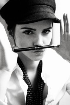 Emma Watson in Harry Crowder Shoot