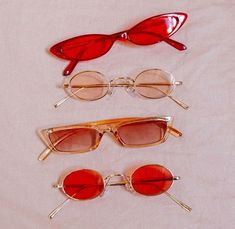 Red glasses Image from Urban Outfitters Red glasses Image from Urban Outfitters Cute Jewelry, Jewelry Accessories, Fashion Accessories, Sunglasses Accessories, 90s Aesthetic, Aesthetic Vintage, Aesthetic Rings, Aesthetic Colors, Aesthetic Collage