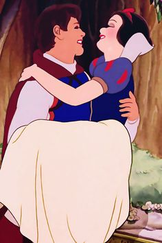 *PRINCE FLORIAN & SNOW WHITE ~ Snow White and the Seven Dwarf's, 1937