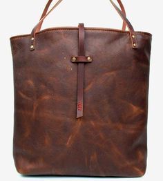 Handcrafted in oil tanned leather