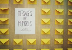 Wedding Stationery Inspiration: Sunshine Yellow - Oh So Beautiful Paper