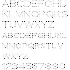 Free TrueType Stitching Font 310 from Stitching Cards. Install this font on your device and then use with programs that enable you to type words in selected fonts. Compose your greeting, print it and use this as a pattern to prick & stitch it on your card.