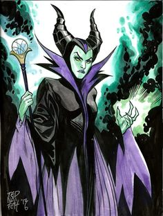 Maleficent by Ted Naifeh