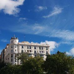 #Madrid #architecture in the sun