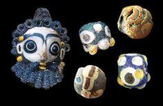 Phoenician Glass Beads Phœnician Glass Beads c. 800 BC