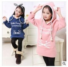 One Piece Years Baby Girls Sweatshirt Thick Fleece Children Hoodies 2015 Spring&Fall Cat Childr Kids Outfits Girls, Cute Outfits For Kids, Toddler Outfits, Kids Winter Fashion, Kids Fashion, Polo Outfit, Outfits Niños, Baby Dress Design, Baby Clothes Patterns