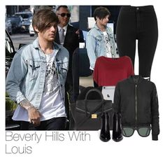 """Louis~#24"" by lauren-beth-owens ❤ liked on Polyvore featuring Topshop, Monki, Forever 21, Ray-Ban, Alexander Wang, women's clothing, women, female, woman and misses"