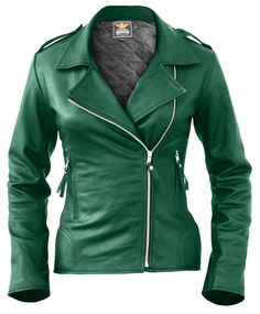 Leather Skin Shop is the only online store that offers Real Genuine Leather Jackets for Women of all ages. Pick your favorite color be it, Red, Yellow, White or other and on your style game! Green Leather Jackets, Leather Jacket Outfits, Leather Coats, Coats For Women, Jackets For Women, Leather Skin, Black Leather, My Style, Clothes