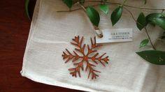 Copper Snowflake (Version 03) by GowenStudios on Etsy